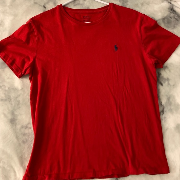 Polo by Ralph Lauren Other - POLO BY RALPH LAUREN BASIC RED CREWNECK TEE